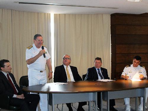 CFPA recebe área para a Patromoria e para a futura Escola de Fluviários