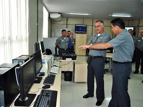 Novas instalações da Seção de Análise de Campo e Reconhecimento Eletrônico