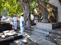 Solenidade no mausoléu do Almirante Alexandrino Faria de Alencar