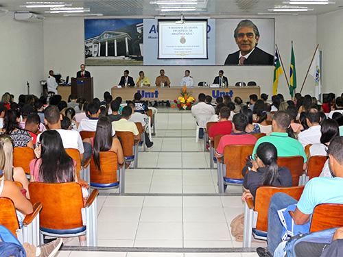 Militares da CPSE realizam palestra na Universidade Tiradentes, em Propriá (SE)