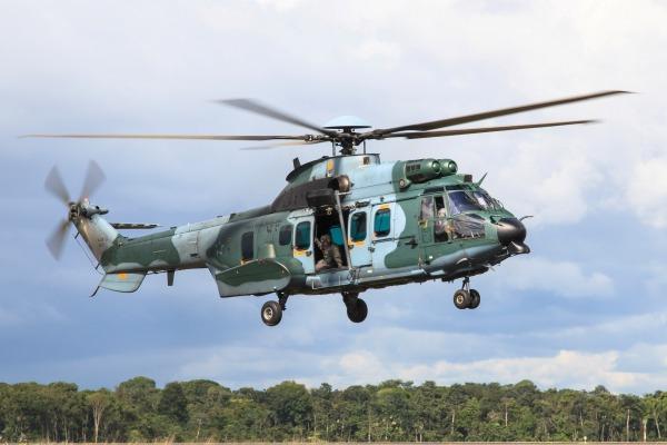 Esquadrão Falcão recebe mais um H-36 Caracal