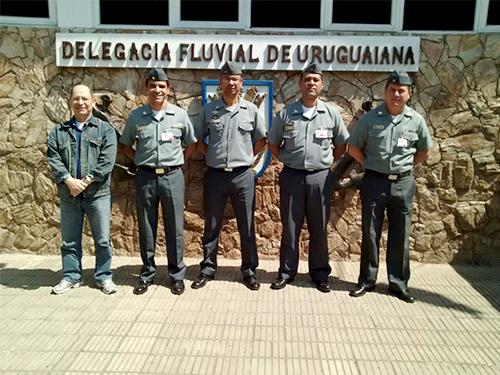 DelUruguaiana recebe visita de equipe volante de identificação do Com5ºDN