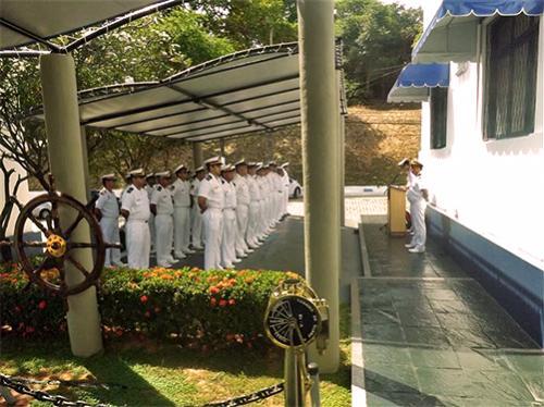 Solenidade no Comando de Grupamento de Patrulha Naval do Nordeste