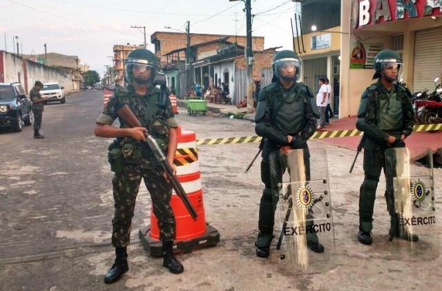 A 23ª Brigada de Infantaria de Selva na Operação Eleições 2016, nos Estados do Pará e Maranhão
