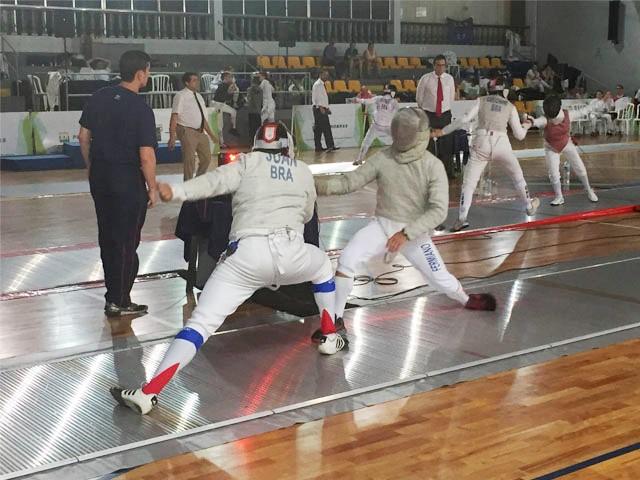 Esgrimistas do Exército são destaque no Campeonato Brasileiro 2016