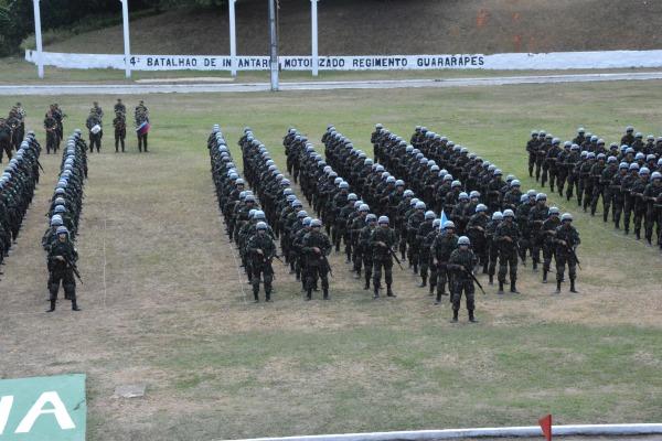 Militares da FAB concluem curso de preparação para Missão de Paz