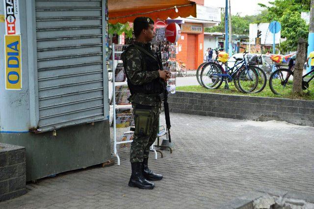Exército realiza a segurança das Eleições 2016 na Grande Rio