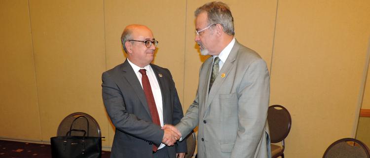 Jungmann participa de reuniões bilaterais com ministros da Defesa de Portugal e da Guatemala