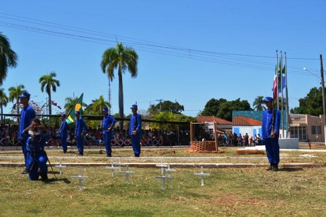 9º GAC relembra, em Nioaque, os 149 anos da Retirada da Laguna