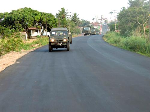 Marinha garante a segurança das eleições em Nísia Floresta (RN)