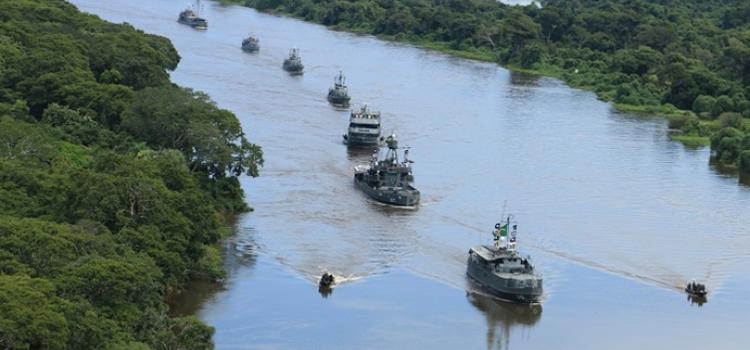 Marinha e Exército realizam exercício conjunto no Mato Grosso do Sul