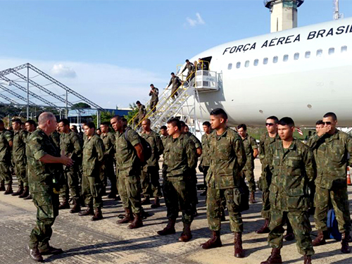 Militares do 1º Batalhão de Operações Ribeirinhas retornam das Olimpíadas