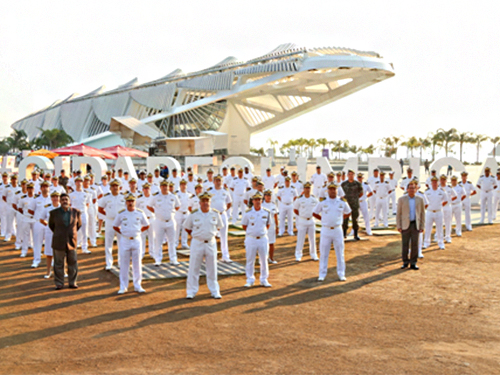 Militares participam desativação do CDS Copacabana
