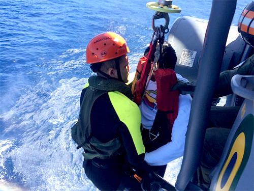 """Navio Patrulha """"Gurupi"""" resgata pescador acidentado"""