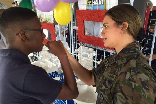 Projeto Colibri recebe Ação de Promoção de Saúde Bucal