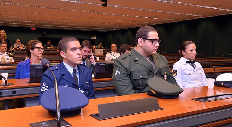 Os atletas militares do programa têm todo o suporte na área de saúde e de treinamento