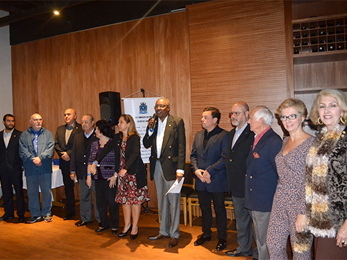 Soamar-Rio realiza encontro e homenageia militares e Time Brasil