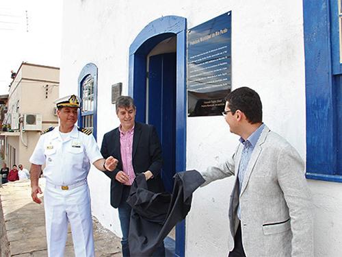Solar Almirante Alexandrino é reinaugurado em Rio Pardo (RS)
