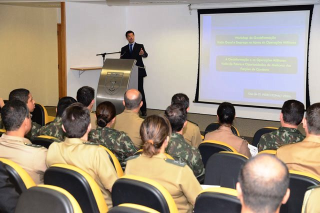 Exército Brasileiro realiza o primeiro Workshop de geoinformação