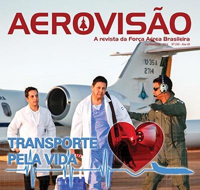 Transporte de órgãos é destaque da nova edição da revista