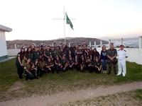 Alunos do Curso de Protetores Ambientais da 3ª Companhia do Batalhão de Polícia Militar Ambiental de Laguna
