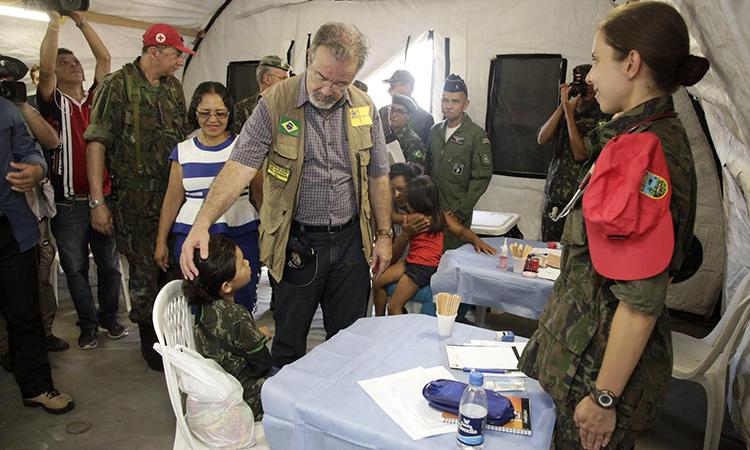 Operação Amazônia realiza Ação Cívico-Social com a expectativa de 2 mil atendimentos