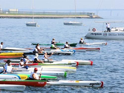 Atletas participam da 71ª Regata Escola Naval