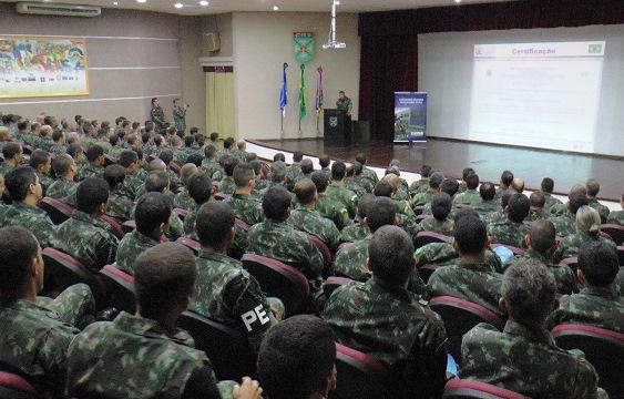 CCOPAB realiza Exercício Avançado de Operações de Paz e certifica BRABAT 25