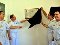 Descerramento da placa alusiva à reedição do I Raid da Aviação Naval