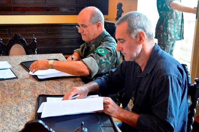 Tuna Luso Brasileira e Comando Militar do Norte fecham acordo em prol do CMBEL