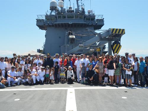 "NDCC ""Almirante Saboia"" realiza o ""Dia da Família"""