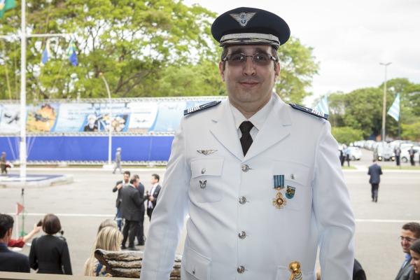 Coronel Marco Aurélio foi um dos agraciados