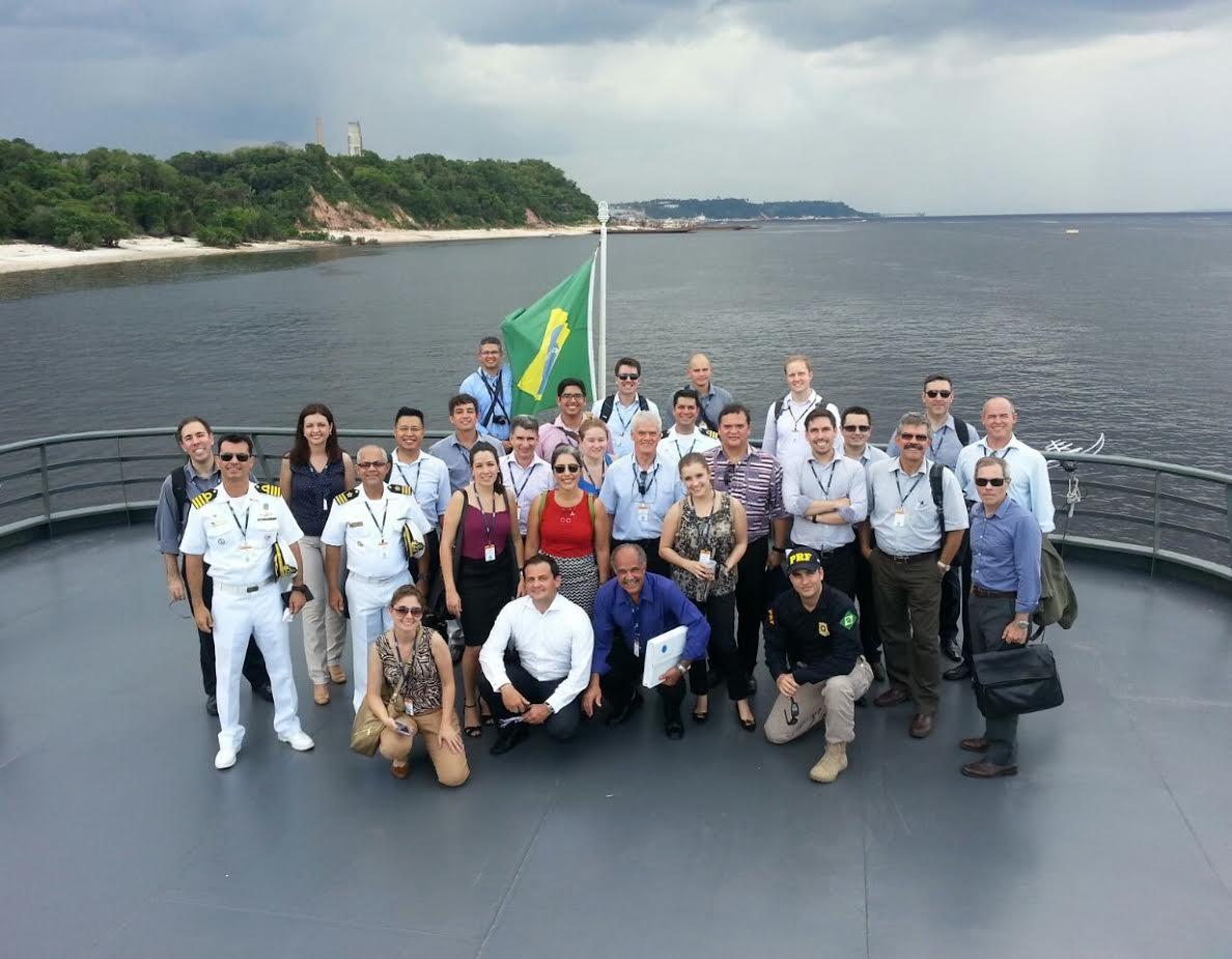 Estagiários do CSUPE participam de viagem de estudos à Amazônia