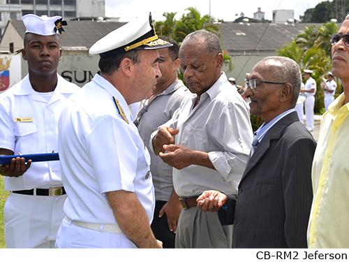 Comando 2º Distrito Naval comemora Dia do Inativo