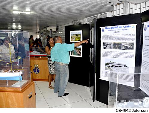 Dentro da programação foram realizadas exposições