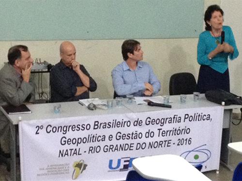 Marinha participa de congresso brasileiro na área de Geografia, em Natal