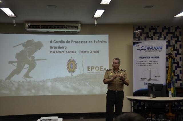 Exército apresenta Modelo de Gestão de Processos para Magistrados do STM