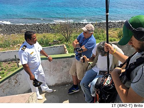 Equipe da SESC TV gravou programa em Abrolhos