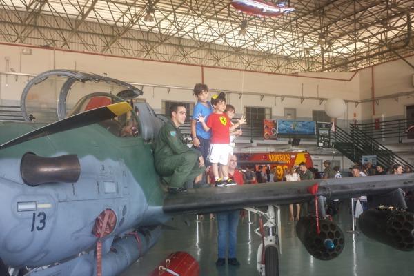 Base Aérea de Campo Grande realizou Portões Abertos no último domingo