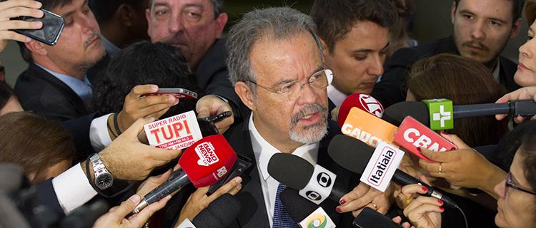 Reunião histórica na defesa da paz e segurança do Brasil, diz ministro Jungmann