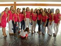Integrantes das Voluntárias Cisne Branco