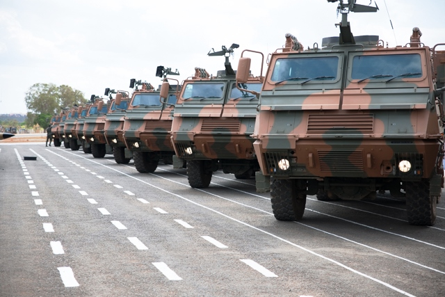 Comando Militar do Planalto recebe novas viaturas do Sistema Astros MK-6
