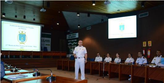 Capitão de Fragata (IM) Weyne falou sobre a gestão do CeIMMa