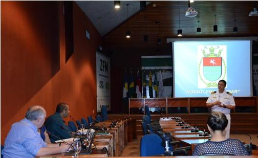 Capitão de Fragata Kreniski apresentou a otimização de seus processos na gestão da ENRN