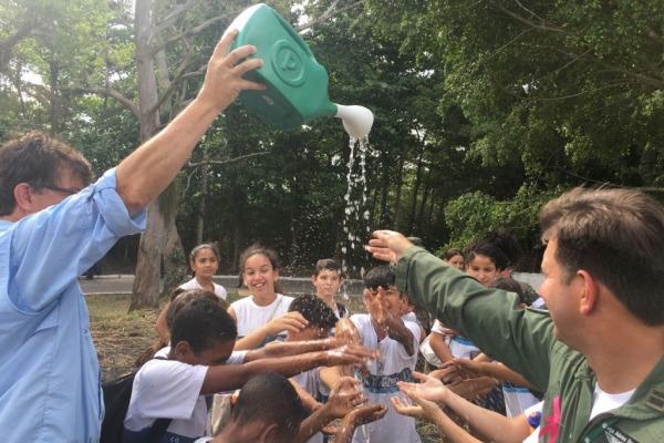 Base Aérea de Santa Cruz realiza Ação Cívico-Social no Rio de Janeiro