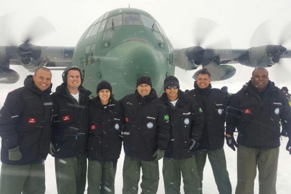 Aviadora da FAB integra tripulação de apoio ao PROANTAR
