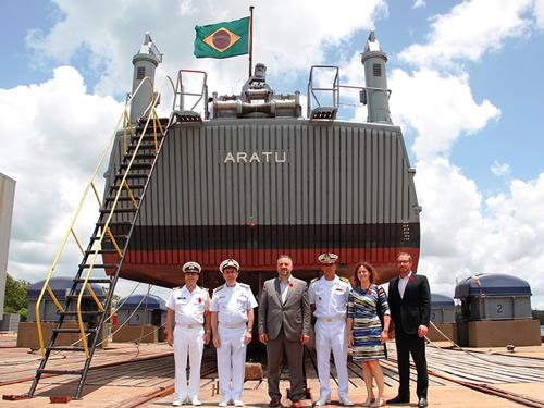 Base Naval de Aratu recebe visita da Embaixada do Canadá