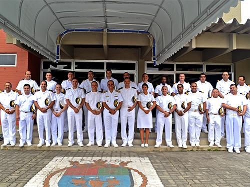 CIAGA aperfeiçoa Oficiais de Máquinas da Marinha Mercante