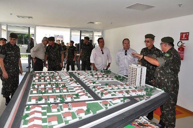 10ª RM e DEC inauguram imóveis em Fortaleza para Família Militar