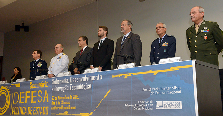 Câmara dos Deputados promove seminário para debater a defesa